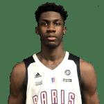 Pro B : Ismael Kamagate (Paris Basketball), 19 ans, 17 rebonds face à Quimper