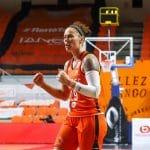 LFB: L'Américaine Kristen Mann va rester jusqu'à la fin de la saison à Bourges