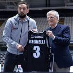 """Italie – Marco Belinelli: """"Les défis me stimulent, l'un est certainement celui d'aider à ramener la Virtus en Euroleague"""""""