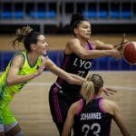 Euroleague féminine: Malgré les 38 points de Marine Johannès, Lyon s'incline face à Prague, 79-80