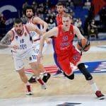 Euroleague: Anadolu Efes en perdition à Moscou, -35