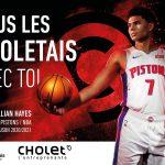 La ville de Cholet supporte Killian Hayes en NBA