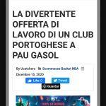 Un club portugais de 2e division fait une offre à Pau Gasol et provoque le buzz