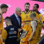 Khimki Moscou: Malgré la débâcle en Euroleague, le coach Rimas Kourtinaitis n'est pas menacé