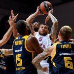 Euroleague: Mike James (CSKA Moscou) manque le triple double d'un rebond et monte à 51 à l'évaluation