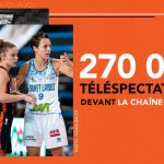 270 000 téléspectateurs en moyenne pour Basket Landes vs Bourges sur La Chaîne L'Equipe