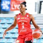 LFB : Tiffany Clarke (Roche Vendée) réalise la 2e évaluation de l'histoire de la ligue