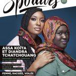 Diandra Tchatchouang en couverture du magazine Les Sportives
