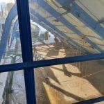 Espagne: Sous le poids de la neige, le toit de la salle historique d'Estudiantes s'est effondré
