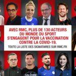 Boris Diaw, Vincent Collet, Valérie Garnier… Ils s'engagent pour inciter les Français à se faire vacciner