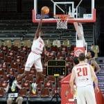 Cholet: Yoan Makoundou, 20 ans, 20 points et 8 rebonds en BCL