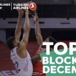 Vidéo: Kevarrius Hayes et Guerschon Yabusele dans le top 10 des contres de décembre de l'Euroleague