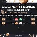Coupe de France : Le tirage au sort des quarts-de-finale