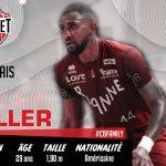 Ian Miller revient en France, à Cholet Basket