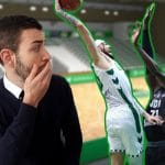 Vidéo: Un soir de match avec Isaïa Cordinier