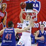 Vidéo: Les deux dernières minutes de CSKA Moscou vs Kalev Tallinn en VTB League