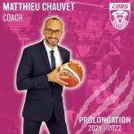 LFB – Matthieu Chauvet, un an de plus à Charnay