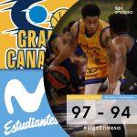 Espagne : 38 points pour AJ Slaughter (Gran Canaria) face à Estudiantes Madrid