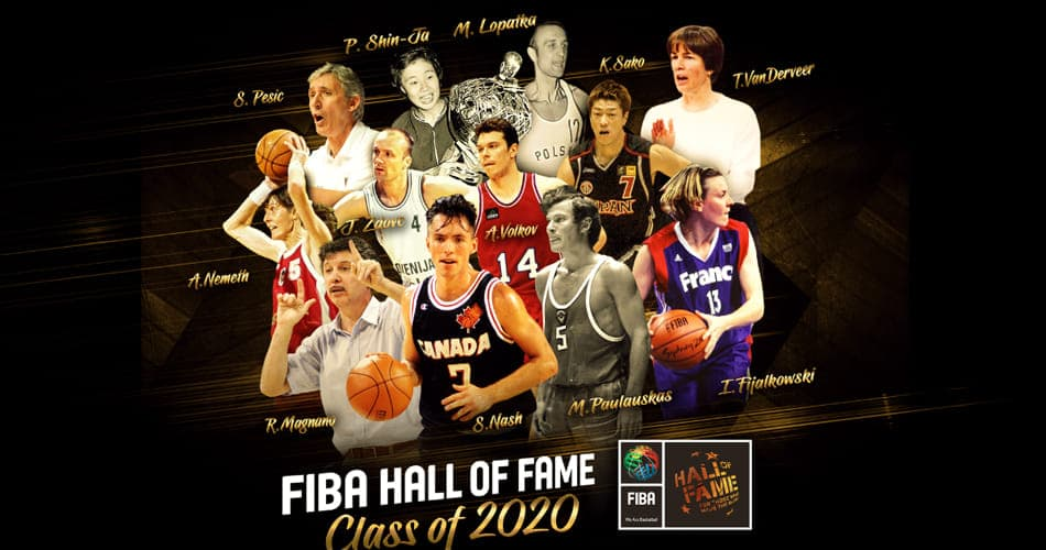 Isabelle Fijalkowski et Jure Zdovc entrent au Hall of Fame de la FIBA