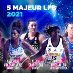 Ligue Féminine: Le 5 Majeur de la saison dévoilé