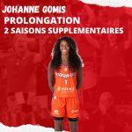 A bientôt 36 ans, Johanne Gomis rempile pour deux ans à Villeneuve d'Ascq