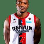 Pro B : Le Congolais Ruphin Kayembe (Denain) out jusqu'à la fin de la saison