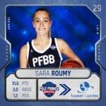 Espoir du basket féminin, Sara Roumy s'engage avec Basket Landes