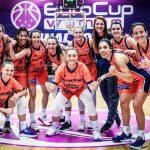 Eurocup féminine : les Flammes Carolo éliminées par Valence en demi-finale