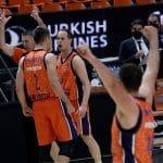 Euroleague : Valence renverse Baskonia et garde un espoir de playoffs