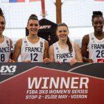 Avant le TQO, l'équipe de France féminine 3×3 s'impose au tournoi de Voiron