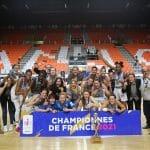 Vidéo : Un reportage sur l'épopée de Basket Landes, champion de France 2021