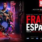 Double France-Espagne à l'Accor Arena de Paris, le 10 juillet