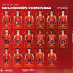 Espagne : 17 joueuses pré-sélectionnées pour l'EuroBasket