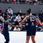 L'équipe de France féminine en démonstration face à l'Espagne