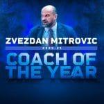 Eurocup : Zvezdan Mitrovic (Monaco) élu Entraîneur de l'Année