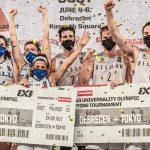 3×3 : La Belgique et l'Italie derniers qualifiés pour les JO de Tokyo
