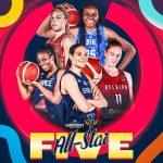 EuroBasket féminin : Sonja Vasic MVP, Endy Miyem dans le 5 All-stars