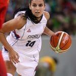 """Ana Dabovic (Serbie) : """"Je ne pense pas à arrêter de jouer pour l'équipe nationale"""""""