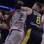 Vidéo : La bagarre lors de Anadolu Efes vs Fenerbahçe