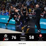 Italie : La Virtus Bologne n'est plus qu'à une victoire du titre