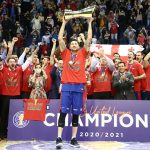 Le budget total du CSKA Moscou s'élevait à 31,5 millions d'euros pour la saison 2020-2021