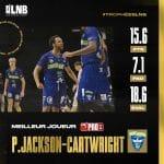 Pro B : Parker Jackson-Cartwright élu Meilleur Joueur de la saison