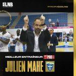 Pro B : Julien Mahé (Saint-Quentin) élu Meilleur coach de la saison