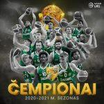 Lituanie : Le Zalgiris Kaunas champion pour la 11e fois de suite