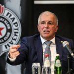 """Zeljko Obradovic, coach du Partizan Belgrade : """"Je ne parle pas d'argent avec les joueurs"""""""