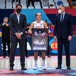 EuroBasket féminin : l'Espagne renoue avec la victoire, Laia Palau honorée