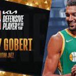 NBA : Un 3e trophée de Défenseur de l'Année pour Rudy Gobert