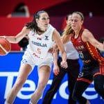EuroBasket féminin : la Serbie bat la Belgique et rejoint la France en finale !