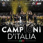 4-0, la Virtus Bologne est championne d'Italie