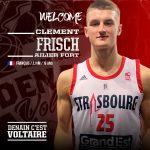 Pro B : Le MVP du championnat espoir, Clément Frisch, prêté à Denain